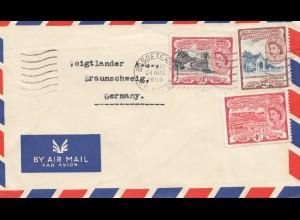 St. Christover Nevis Anguilla: Basseterre St. Kitts 1956 to Braunschweig