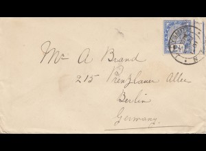 Natal: 1901: letter to Berlin