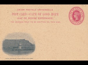 cape of good hope: old post card - unused
