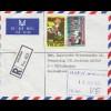 Nigeria: 1984 air mail to München BMW