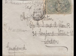 Lagos: 1903: letter to London