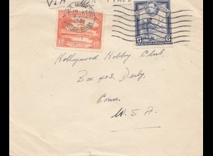 British Guinea: 1943 Georgetown to USA