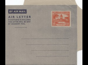 British Guiana: Air letter, unused