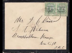 Oranje River Colony: 1902. letter Kroonstad