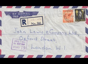 Nigeria: 1964 Registered Ijebu ode to London