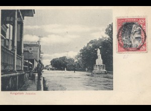 Jamaica: post card Kingston