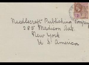 British Guiana: letter to New York