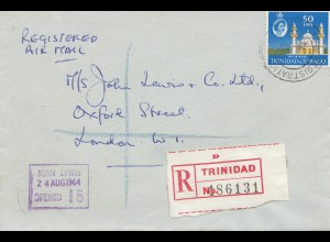 Trinidad & Tobago: Regitered 1964 to London