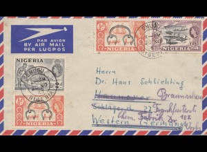 Nigeria: 1957 Enugu to Braunschweig Chemical factory