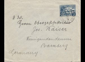 New Guniea: Kavieng 1928 to Bamberg
