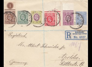 Nairobi: Registered 1911 to Apolda