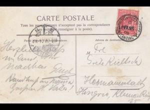 Levant: post card 1909 - Bosphore