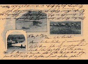 Naval: post card 1902 to Bonn