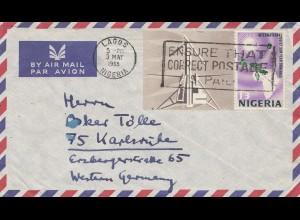 Nigeria: 1965: Lagos to Karlsruhe