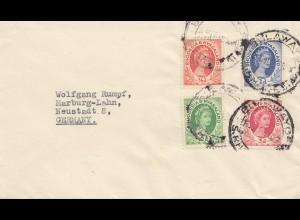 Rhodesia: 1954: letter to Marburg