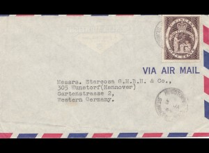 St. Vincent: Air Mail 1964 to Wunstorf