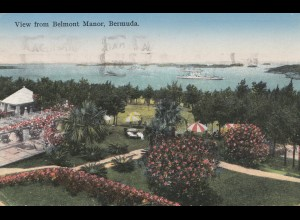 Bermuda: Hamilton picture post card 1936 to USA Seymour