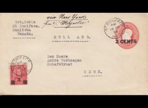 Canada: 1936: St. Boniface - Manitoba - to Uden/Holland