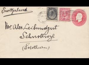 Canada: 1906: Toronto to Schnottwil - Switzerland