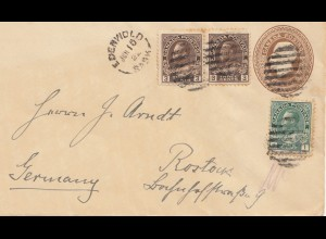 Canada: 1922: Edenwold to Rostock/Germany