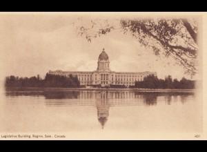 Canada: post card Legislative Building Regina Sask.