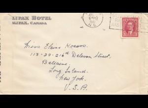 Canada: 1941: Halifax to Long Island/New York