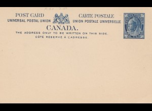 Canada: post card - 2 cents