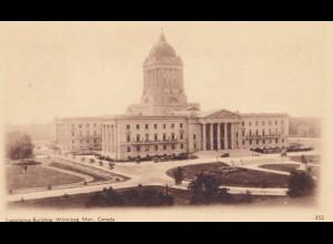 Canada: post card Legislative Building Winipeg