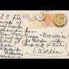 Ceylon: 1909: post card Colombo to Berlin