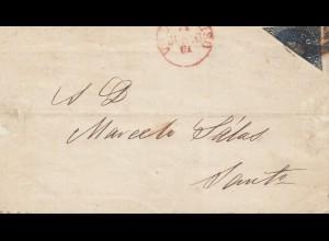 Chile: 1861: Valparaiso to Santo