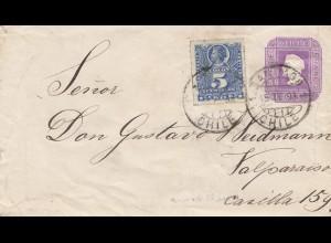 Chile: 1918: Santiago to Valparaiso