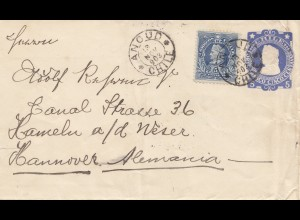Chile: 1903: Ancud to Hannover - Hameln/Germany