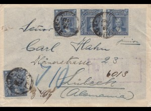 Chile: 1907: letter to Lübeck