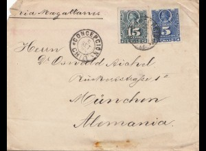 Chile: 1895: Concepcion to München