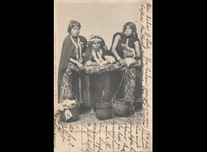 Chile: 1901: picture post card Deutsch-Lissa with Taxe to Breslau