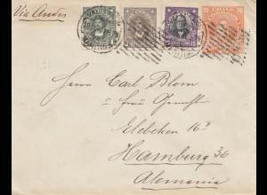 Chile: 1922: Valpariso to Hamburg