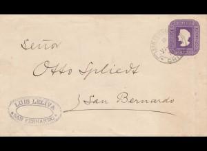 Chile: 1898: San Fernando to San Bernardo