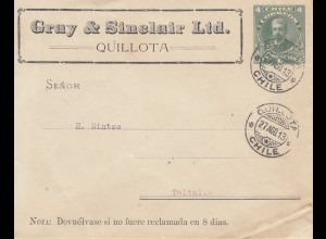 Chile: 1913: Quillota to Taltal