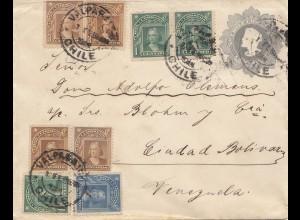 Chile: 1908: Valparaiso to Venezuela