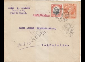 Chile: 1928: Puerto Montt to Valparaiso