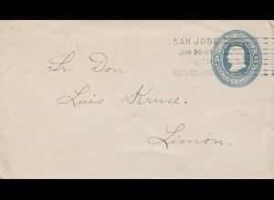 Costa Rica: 1911: San Jose to Limon