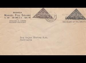 Costa Rica: 1937: San Jose Bodega to Turrialba