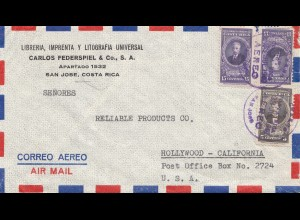 Costa Rica: 1949: San Jose to Hollywood
