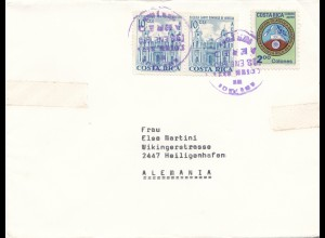 Costa Rica: 1970: letter to Heiligenhafen