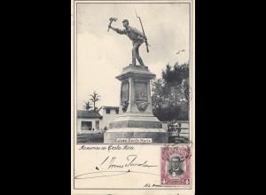 Costa Rica: 1905: post card San Jose to München