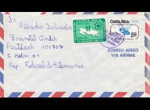 Costa Rica: 1977 letter to Köln