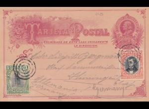 Costa Rica: 1904: post card Limona