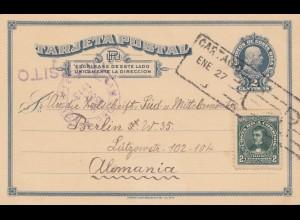 Costa Rica: 1913: post card Cartago to Berlin