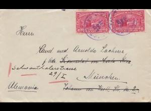 Costa Rica: 1927: letter to München - Feria de Viena