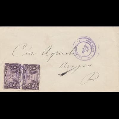 Costa Rica: 1929: Turriable to Aragon